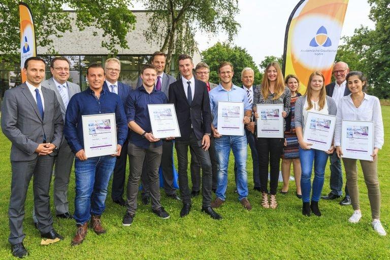 Die Sieger des Geschäftsideen-Wettbewerbs 2017