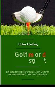 """Titelseite des Romans """"Golfmord"""""""